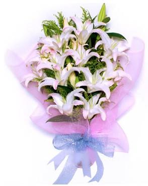 5 dal kazablankadan muhteşem buket  Bursa çiçek yolla , çiçek gönder , çiçekçi