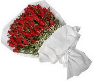 Bursa hediye sevgilime hediye çiçek  51 adet kırmızı gül buket çiçeği