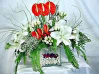 Bursa online çiçek gönderme sipariş  Anthurim Kazablanka  gül