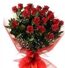 İlginç Hediye 21 Adet kırmızı gül  Bursa çiçekçi telefonları