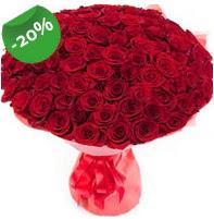 Özel mi Özel buket 101 adet kırmızı gül  Bursa internetten çiçek satışı