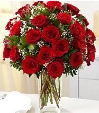 Vazo içerisinde 33 adet kırmızı gül  Bursa ucuz çiçek gönder