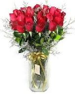 27 adet vazo içerisinde kırmızı gül  Bursa hediye sevgilime hediye çiçek