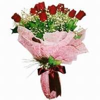 Bursa çiçek gönderme sitemiz güvenlidir  12 adet kirmizi kalite gül