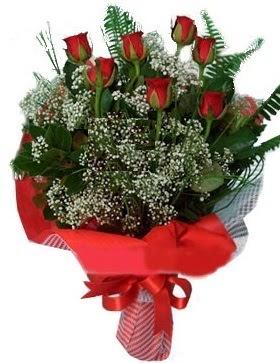 7 kırmızı gül buketi  Bursa çiçek siparişi vermek