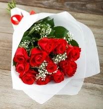 9 kırmızı gülden buket çiçeği  Bursa çiçek mağazası , çiçekçi adresleri