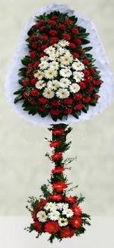 Bursa çiçek yolla  çift katlı düğün açılış çiçeği