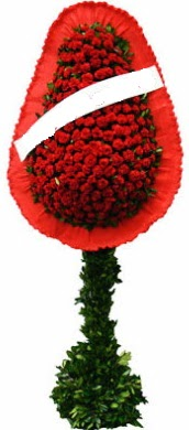 Tek katlı görsel düğün nikah açılış çiçeği  Bursa İnternetten çiçek siparişi