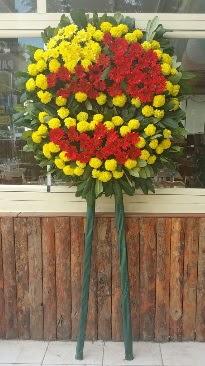 Cenaze çelengi çiçek modeli  Bursa online çiçek gönderme sipariş