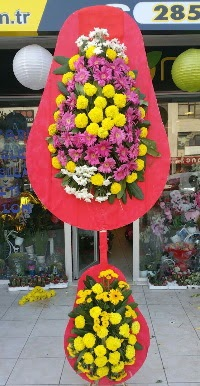 Çift katlı düğün nikah açılış çiçek modeli  Bursa çiçek , çiçekçi , çiçekçilik
