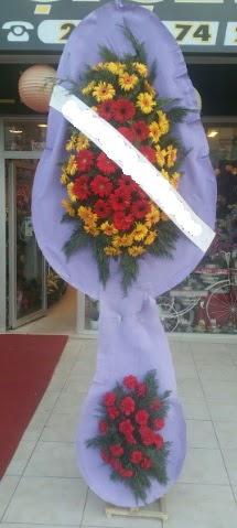 Çift katlı nikah düğüne çiçek modeli  Bursa çiçekçi telefonları