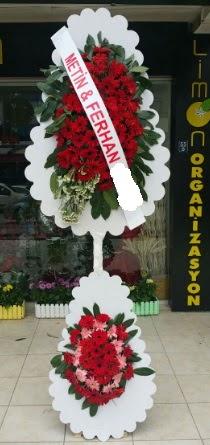 Çift katlı düğün nikah çiçeği modeli  Bursa çiçek gönderme sitemiz güvenlidir
