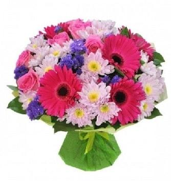 Karışık mevsim buketi mevsimsel buket  Bursa güvenli kaliteli hızlı çiçek