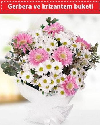 Papatya ve Gerbera Buketi  Bursa yurtiçi ve yurtdışı çiçek siparişi