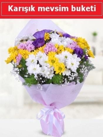 Karışık Kır Çiçeği Buketi  Bursa cicekciler , cicek siparisi