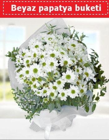 Beyaz Papatya Buketi  Bursa çiçek siparişi sitesi